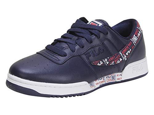 Fila Mens Original Fitness Trademark Sneaker - Navy,Navy,13