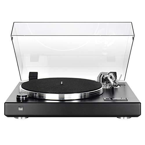 Dual CS 600 Noir Mat Platine Vinyle HiFi
