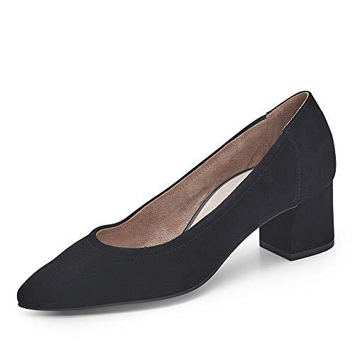 Paul Green Damen Pumps 3806, Frauen Klassische Pumps, Feier Court-Shoes Absatzschuhe Abendschuhe stöckelschuhe weibliche Lady,SCHWARZ,40 EU / 6.5 UK
