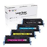 Tóneres compatibles con HP Color Laserjet 2600N 1600 2605N 2605DN 2605DTN CM1015 MFP...