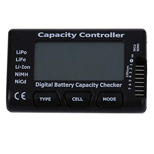 SODIAL(R) RC CellMeter 7 Digitale Batterie Kapazitaet Checker LiPo LiFe Li-Ion NiMH Nicd
