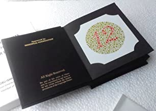 Ishihara Color Blindness Optometry Test Book 38 Plates Latest Edition