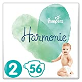 Pampers Harmonie Taille2, 56Couches, 4-8kg