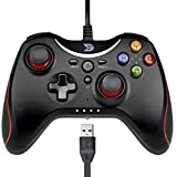ZD T Gaming - Mando de mando con cable para PC (Windows XP/7/8/8.1/10) / Playstation 3 /...