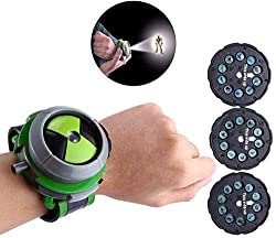 Easy to play, just insert the card and press the side button, a cool cartoon hero will appear Made by high quality material,adjustable watch band and comfortable to wear Can rotate the watch to select your favorite cartoon characters. Great gifts for...