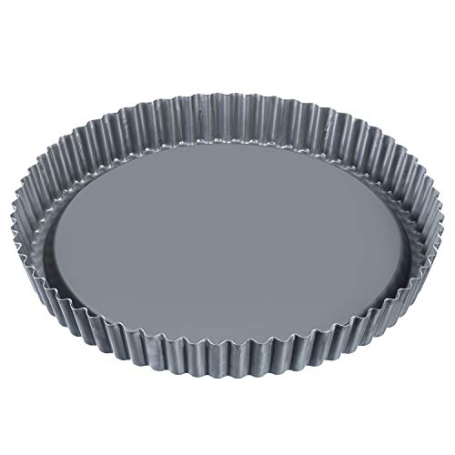Westmark Obstbodenform, Ø 28 cm, mit Antihaftbeschichtung, kaltgewalzter Stahl, Back Profi, Anthrazit, 33942260