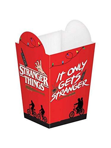 Stranger Things Popcorn Paper Boxes- 8 pcs.