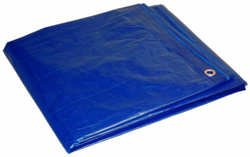 12x20 Multi-Purpose Blue Medium Duty DRY TOP Poly Tarp (12'x20')
