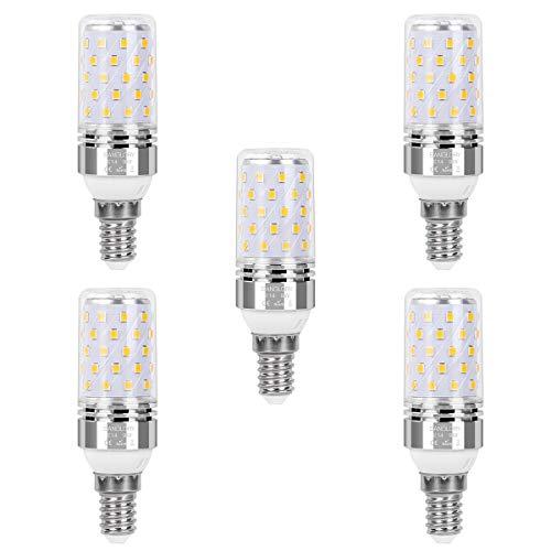 SanGlory E14 LED Glühbirnen, 5er Pack 9W E14 LED Leuchtmittel Warmweiß 3000K 950LM Ersatz 80W Glühlampe, E14 LED Mais Lampen Birnen Maiskolben Kleine Kerze Licht Nicht Dimmbar (5er 9W E14 Warmweiß)