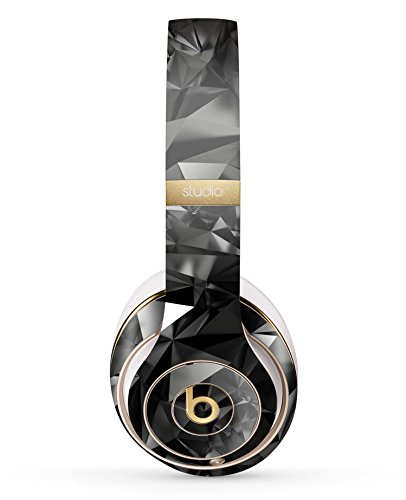 Black 3D Diamond Surface Design Skinz Full-Body Premium Authentic Skin Kit for The Beats by Dre Studio 2 or 3 Remastered Wireless Headphones Ultra-Thin Protective Decal Wrap