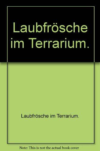 Laubfrösche im Terrarium.