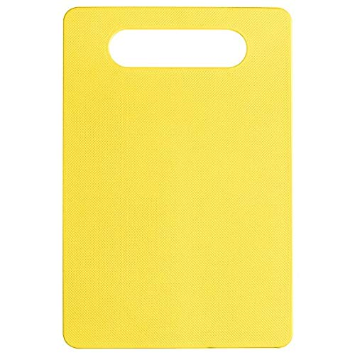 Plastic Cutting Board Foods Classification Boards Outdoors Camping Vegetable Fruits Meats Bread CuttingChopping Blocks - yellow