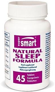 Supersmart MrSmart - Estrés y sueño - Natural Sleep Formula - Una alternativa natural y sana