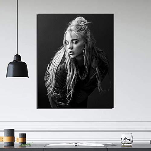 KWzEQ Nordische Plakat Leinwand Wohnzimmer Hauptdekoration Moderne Wandkunst Ölgemälde Poster Bild,Rahmenlose Malerei,70x90cm