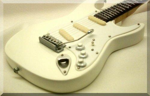 JIMI HENDRIX Miniatura Guitarra WHITE