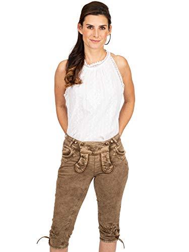Hangowear Jeans Kniebund OVIDA Schlamm, 38