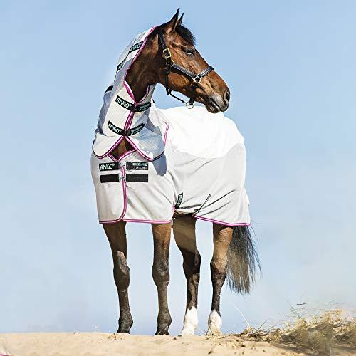 Horseware Amigo Airflow Fliegen Teppich 140cm Green/Purple/Mint