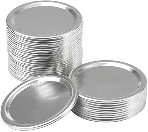 Canning Lids Wide Mouth, Lids for Mason Jar Canning Lids Split-type Canning Lids 30 Pcs (86mm Wide, 30 lids)