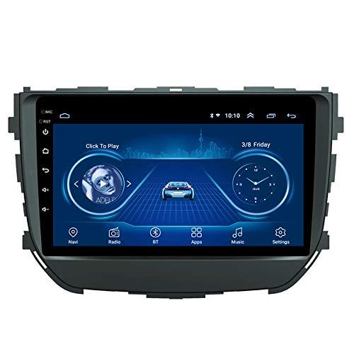 Benature Android Car Stereo Sat Nav para Suzuki BREZZA 2016-2018 Unidad Principal Sistema De Navegación GPS SWC 4G WiFi BT USB AUX Radio Mapa Dispositivo De Navegador Satelital
