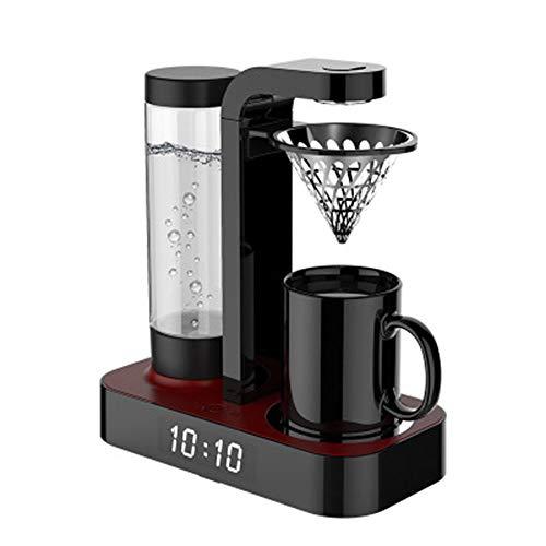 N/ A Drip Kaffeemaschine Multifunktions-Uhr Startseite Automatische amerikanische Drip Abnehmbare Kaffeemaschine