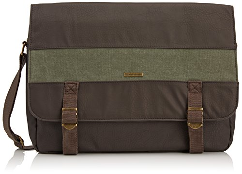 Billabong Herren Tasche Chief Satchel, Chocolate, 40 x 9 x 30 cm, 10 Liter