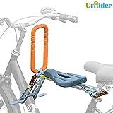UrRider Asiento de bicicleta para niños, portátil, plegable y ultraligero, portabicicletas para niños con pasamanos...