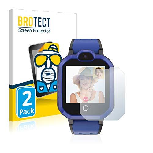 BROTECT 2X Entspiegelungs-Schutzfolie kompatibel mit Pthtechus PTH 4G GPS Bildschirmschutz-Folie Matt, Anti-Reflex, Anti-Fingerprint