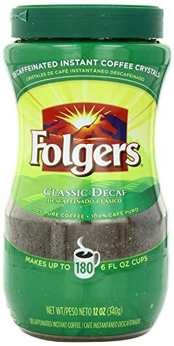 folgers coffee instant decaf - 1