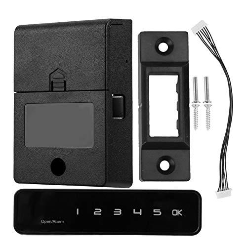 FOLOSAFENAR Interfaz Micro USB con Cerradura electrónica retroiluminada para cajones