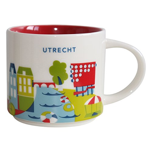 Starbucks Utrecht Mug YAH You are here Collection - 14 fl oz / 414 ml