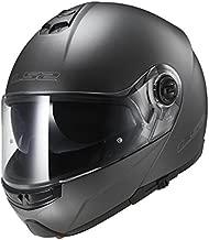 LS2 Helmets Modular Strobe Helmet (Gunmetal - Medium)