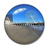 Atlantic Beach Shore Casino New Jersey USA 3D Kühlschrank Magnet Whiteboard Magnet...