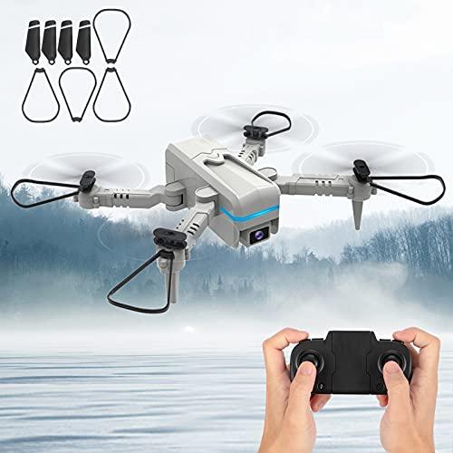 H6 Mini Drone con control remoto, H6 Mini Drone 4k Cámara dual Rendimiento de vuelo superior para una vida al aire libre más rica e interesante(Dual lens, Pisa Leaning Tower Type)