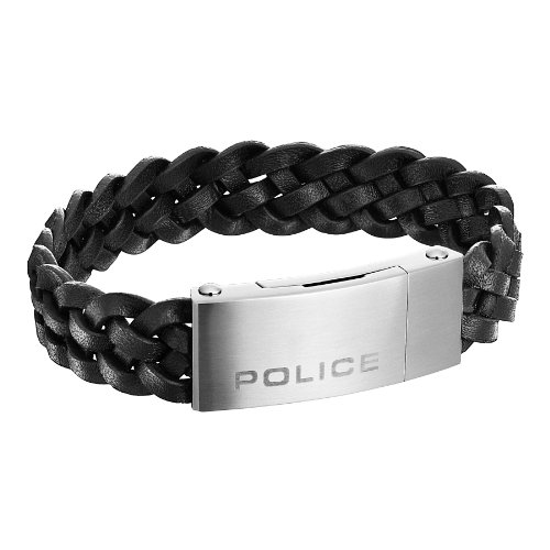 Police Herren-Armband Edelstahl INDY II PJ25152BLB-01-L