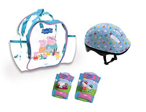 Peppa Pig Mochila Casco Protecciones  OPEP004   Multicolor  DARPEJE 1