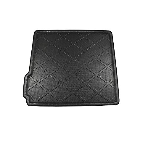 QWLHZW Car Rear Trunk Mat Boot Tray Liner Luggage Cargo Carpet Mud Protector Pad, For BMW X5 E70 F15 5 Seater Wagon 2007-2018 car mats