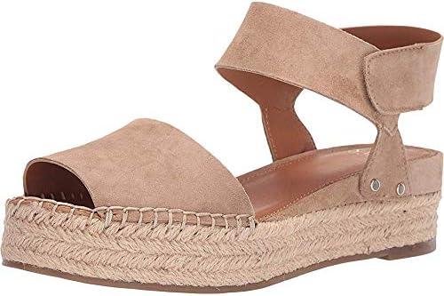 Franco Sarto Oak Navy Suede Platform Wedge Sandals
