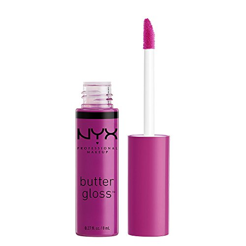 NYX Professional Makeup Butter Gloss, Raspberry Tart, 0.27 Fluid Ounce