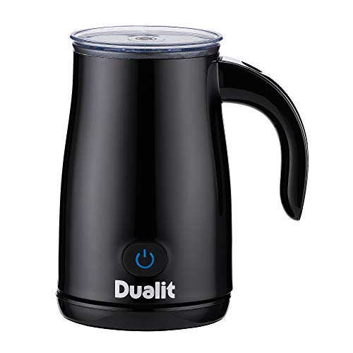 Dualit Milk Frother | Hot milk, hot frothed milk & cold frothed milk | Ideal for lattes, cappuccinos, flat whites, hot chocolate & milkshakes | Perfect partner for Dualit & Nespresso Coffee Machines