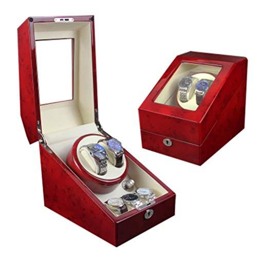 Mecánico enrollador de Reloj automático Caja de bobinado de Reloj mecánico Completamente automático Mesa de Despertar Mesa giratoria Caja de Mesa giratoria Fina Harmonious Home