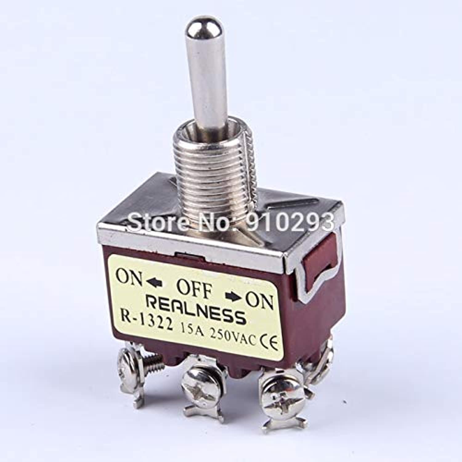 15A 250VAC R1322 Toggle Switch CE Mark