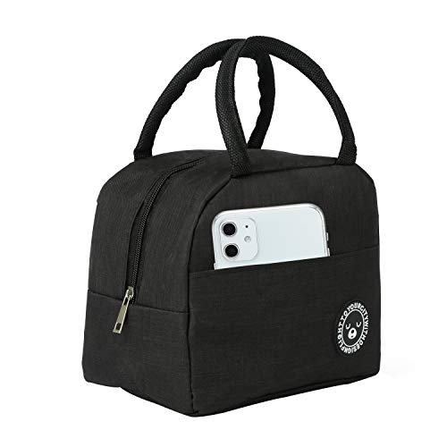 Lunch Bags For WomenLarge Capacity Insulated Lunch Bag Suitable For Women Men Students Work Office Leisure