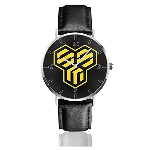 Los niños Miran Reloj Pulsera niño Historieta 3D Impermeable Ro_botech Pantalla Redonda 38mm Batería de botón Poder Unisex Watch