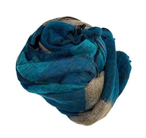 Decke/Überwurf, extraweich, Yak-Wolle-Mischgewebe, hergestellt in Nepal, Größe 121,9 x 243,8 cm