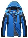 HOW'ON Men's Snow Jacket Windproof Waterproof Ski...