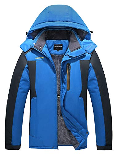 HOW'ON Men's Snow Jacket Windproof