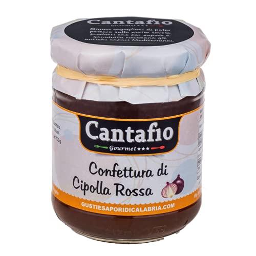Cantafio Gourmet Confettura di Cipolla Rossa 190g | Marmellata di cipolle
