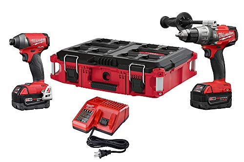 Milwaukee 2897-22PO FUEL 18Volt Lithium-Ion Cordless Hammer Drill/Impact Driver