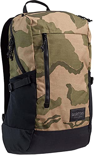 BURTON New Prospect 2.0 Backpack with Water Bottle Pockets & Padded Laptop Sleeve, Barren Camo Print