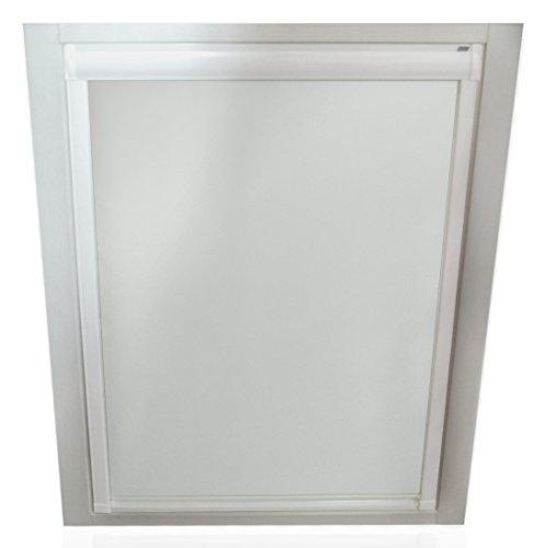 sun collection Verdunkelungsrollos für Velux Fenster - Profilfarbe Weiß - komplett verdunkelnd GGL GPL GGU GPU F04 SP